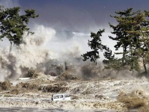 245 metreye ulaşan tsunami!