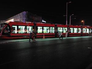 İpekböceği tramvaylar Bursa'da test sürüşlerine başladı