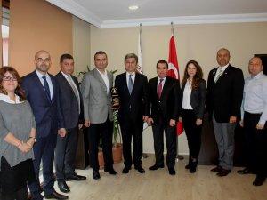 THY Kargo Başkanı Türk'ten UTİKAD'a ziyaret