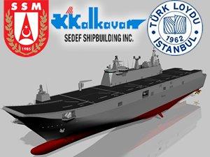 Havuzlu Çıkarma Gemisi'nin Klaslama Sözleşmesi yarın imzalanıyor