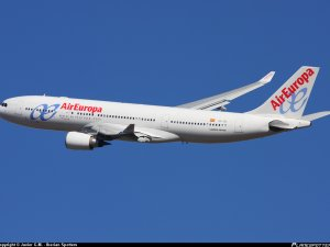 Santamaria'yı taşıyan uçak Çorlu'ya zorunlu iniş yaptı