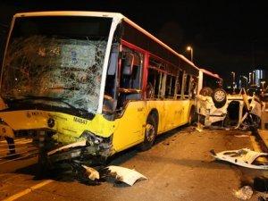 İstanbul'da feci kaza: 5 ölü