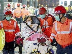 Hong Kong'da feribot kazası: 124 yaralı