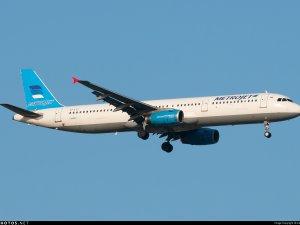 Mısır'da düşen uçağın parçaları bulundu