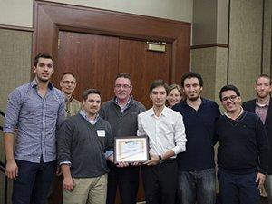 Özyeğin Üniversitesi öğrencileri ABD Savunma Bakanlığı'ndan ödül aldı