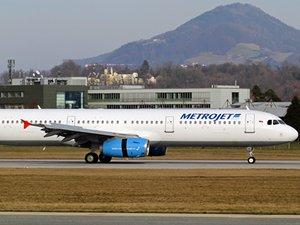 Metrojet Airbus'la yaptığı uçuşları durdurdu