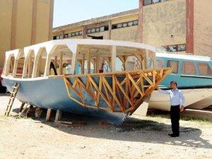 Gaziantepli iş adamı Gaziantep'e tersane kurdu