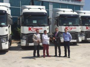 Kosifler Hafriyat da Renault Trucks ailesine katıldı
