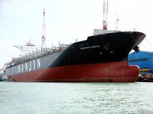 Ciner Denizcilik, M/V HANJIN CZECH isimli konteyner gemisini teslim aldı