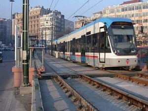 Eminönü'nden Eyüp'e tramvay geliyor