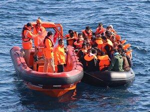 Ege Denizi'nde düzensiz göç, geçen yıla göre yüzde 400 arttı