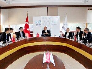 OECD heyeti GİSBİR'i ziyaret etti