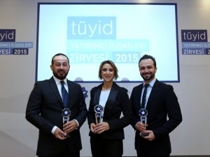 TAV'a üç ödül birden