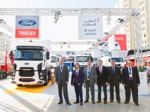 Ford Trucks, Dubai Big 5 Fuarı'nda gövde gösterisi yaptı
