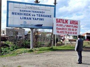 Samsun Tekkeköy  tersanesinde 3 yatırımcının sözleşmesi iptal edildi
