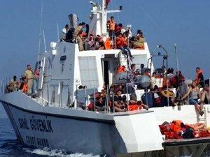 Çanakkale'de  yakalanan kaçak göçmenlerin sayısı bini aştı