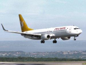 Pegasus uçağı Ankara'ya inemedi