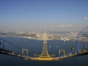 İzmit Körfez Geçişi Asma Köprüsü, nisan ayında açılıyor