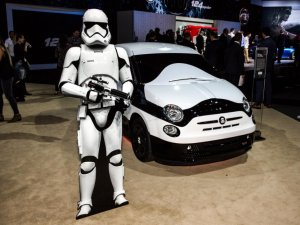 Star Wars Temalı Fiat 500!