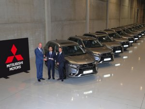 Mitsubishi Outlander PHEV İklim Konferansı'na damgasını vurdu