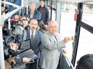 Otobüslere panik butonu geliyor