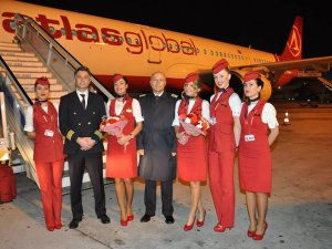 Atlasglobal, Kayseri uçuşlarına başladı