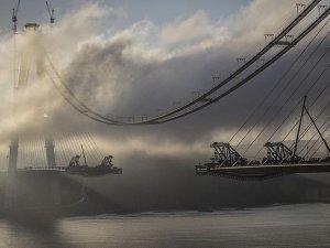 Yavuz Sultan Selim Köprüsü'nde son 391 metre