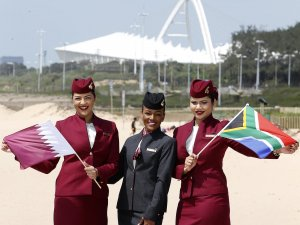 Qatar Airways, Güney Afrika'daki uçuş ağını genişletiyor
