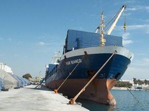 Denizi kirleten M/V MAR BIANCO isimli kuru yük gemisine 65 Bin TL ceza kesildi