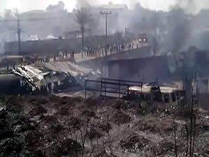 Nijerya'da gaz dolum tesisinde patlama: 100'den fazla ölü