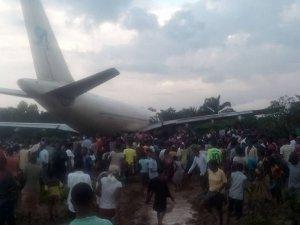 Kongo'da kargo uçağı faciası