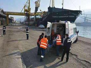 İnebolu Limanı'nda Güvenlik Tatbikatı yapıldı
