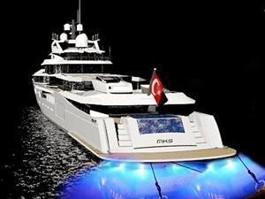 Türk tasarımcıdan 84 metrelik M/Y GALENE