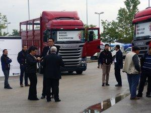 Scania 8x2, Roadshow'da müşterileriyle buluştu