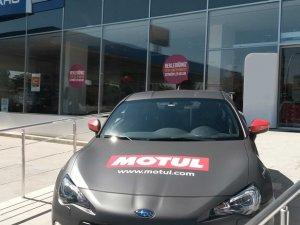 Motul ve Subaru iş birliği Türkiye'de büyüyor