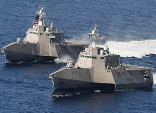 İran 2 ABD donanma gemisine el koydu