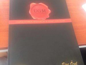 UGM, yeni kataloğunu tanıttı