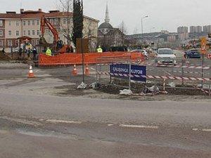 Sekapark-Otogar tramvay hattı için altyapı çalışmaları sürüyor