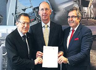 Bandırma Belediyesi ile Rotterdam Liman İşletmesi Çevreci Liman için imzaları attı