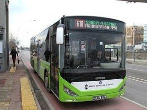 Kocaeli Büyükşehirin yeni otobüsleri hizmete girdi