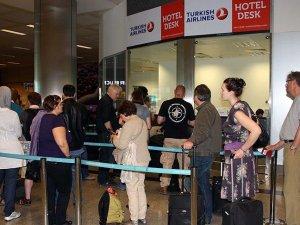 Havayolu yolcu sayısı ocakta 12 milyonu geçti
