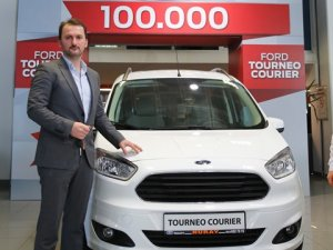 Ford Otosan'dan 100 bininci Tourneo Courier