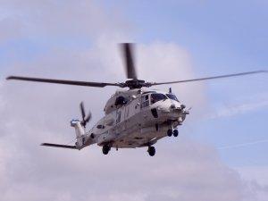 Yunan helikopteri Ege Denizi'ne düştü