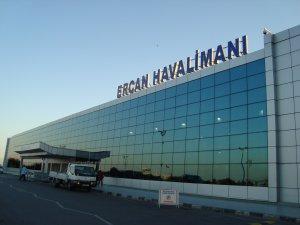Ercan Havalimanı'nda bir ilk!