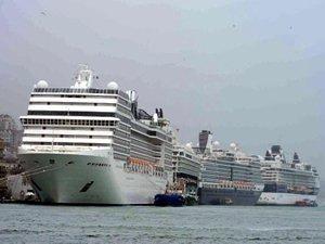 Türkiye'ye yapılacak kruvaziyer turizminin yüzde 95'i iptal edildi