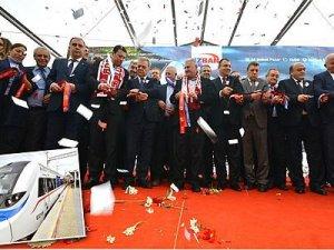 Torbalı İZBAN hattı düzenlenen törenle resmen açıldı
