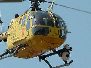 Mısır'da askeri eğitim helikopteri düştü