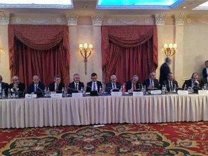 Bakü-Tiflis-Kars demiryolu hattı projesi için 7. üçlü koordinasyon konsey toplantısı gerçekleştirildi