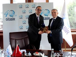 Malta Cumhuriyeti Başkonsolosu, GİSBİR'i ziyaret etti