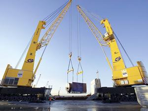 Safiport Derince Limanı, ekipman alımlarına başladı